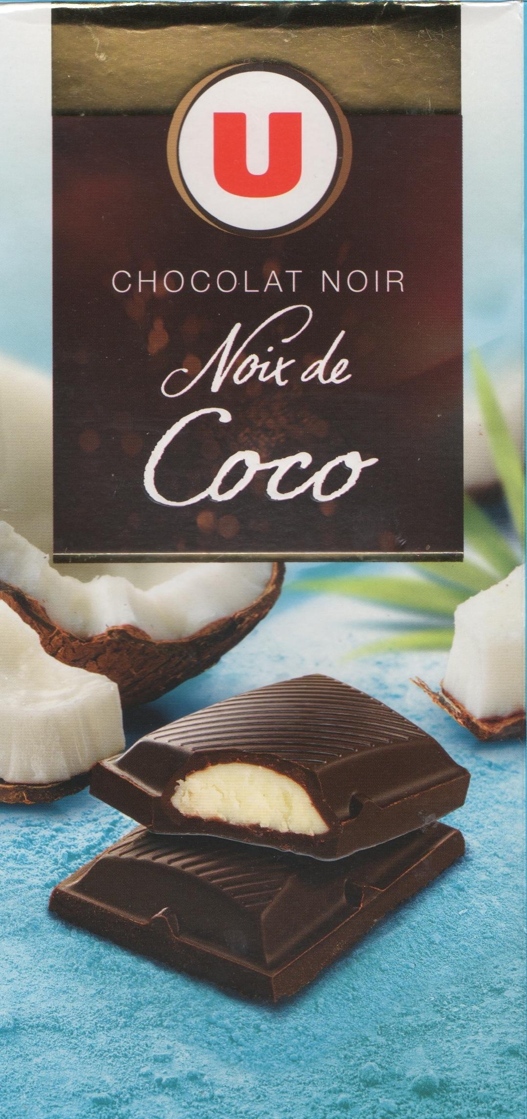 Chocolat Noir Noix de Coco - Produit - fr