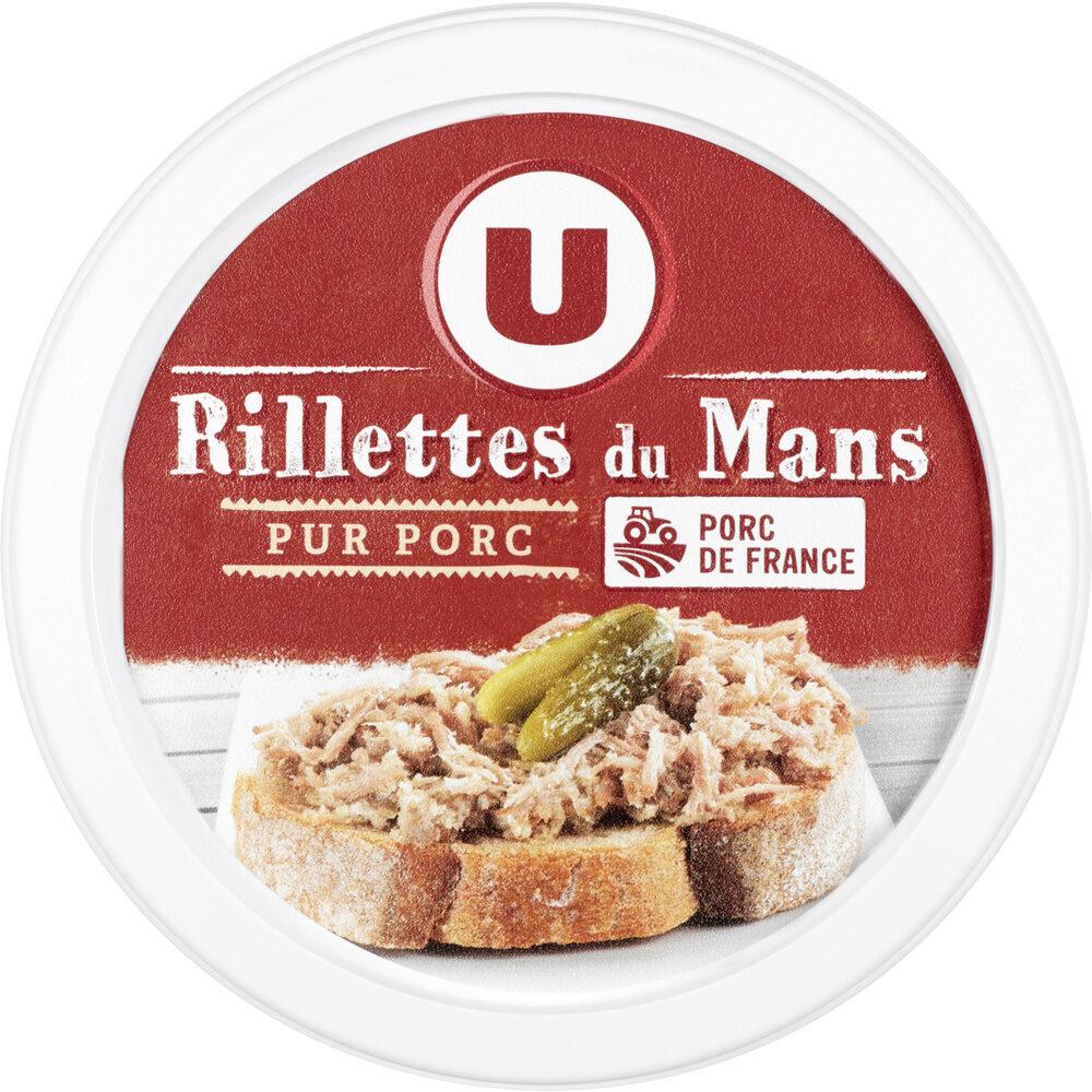 Rillettes du Mans pur porc - Produit - fr