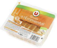 Roulés au fromage d'emmental - Produit - fr