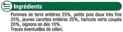 Printanière de légumes - Ingredients