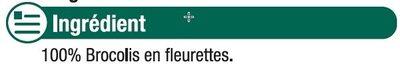 Brocolis en fleurettes - Ingredients