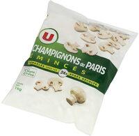 Champignons de Paris émincés - Product