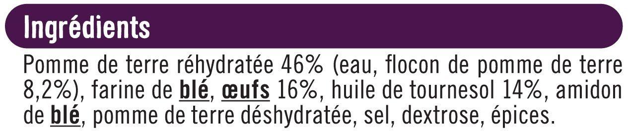 Pommes dauphines - Ingredients - fr