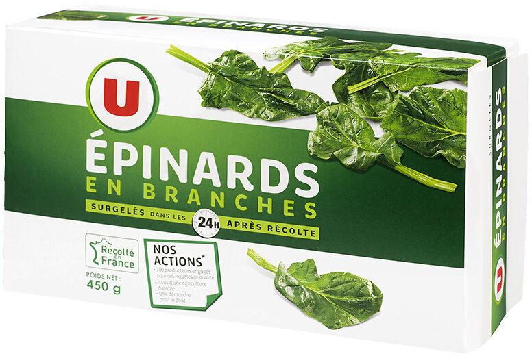 Epinards en branches - Product - fr