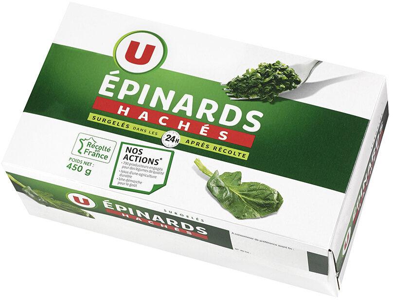 Epinards hâchés - Product - fr