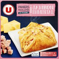 Paniers feuilletés jambon fromage - Produit - fr