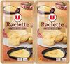 Raclette sans croûte pasteurisé en tranches 28% de matière grasse - Product