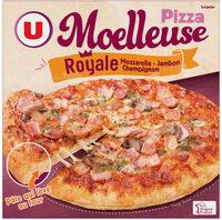 Pizza moelleuse Royale fromage jambon champignons surgelée - Product - fr