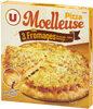 Pizza moelleuse 3 fromages Mozzarella Edam Emmental surgelée - Produit