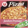 Pizza jambon fromages - Produit