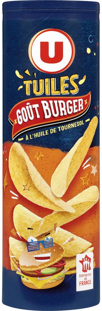 Tuiles goût cheese et burger - Produit - fr