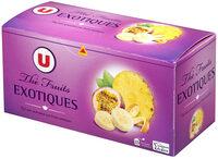 Thé noir fruits exotiques - Product - fr