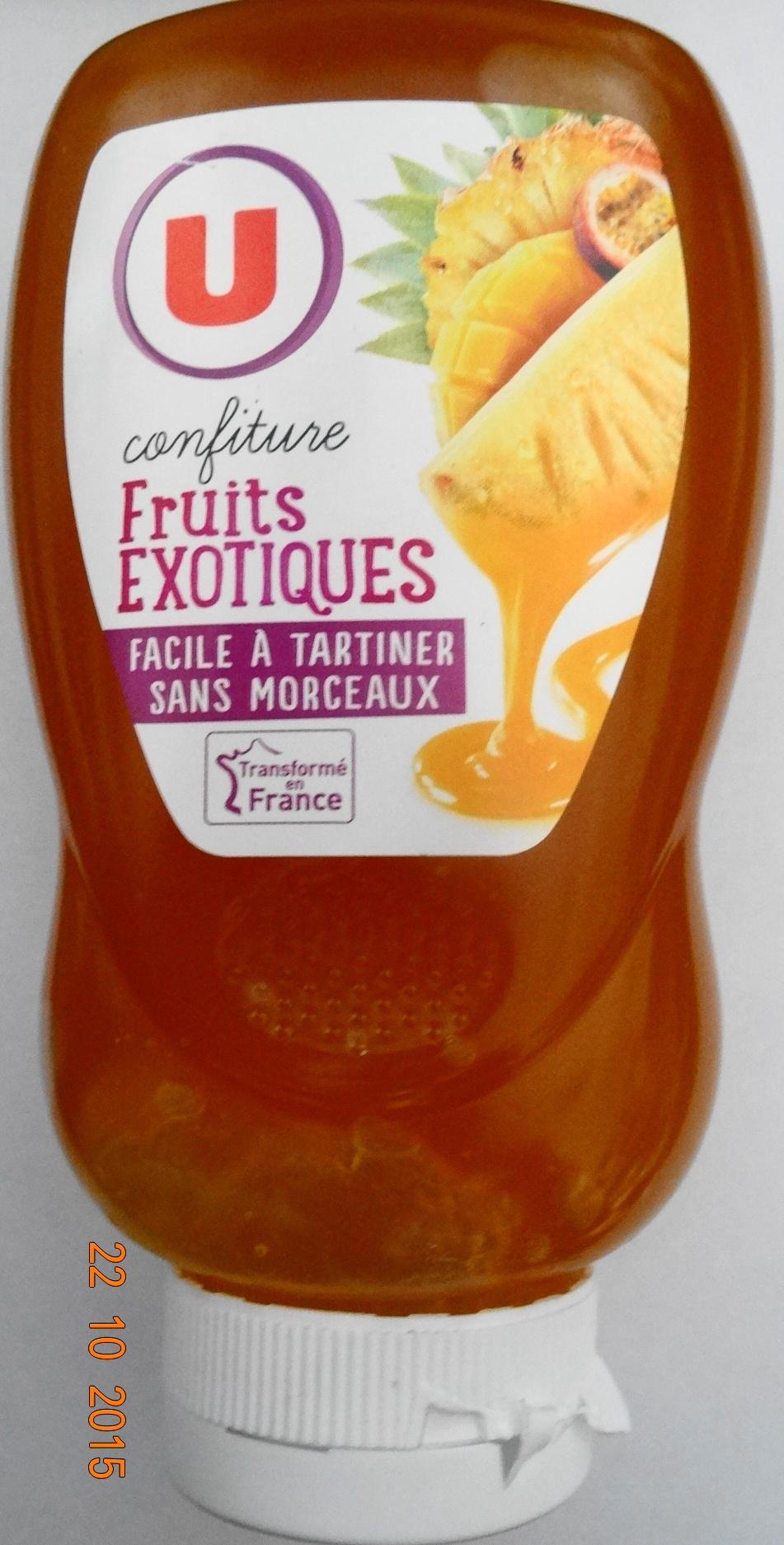 Confiture Fruits Exotiques - Product