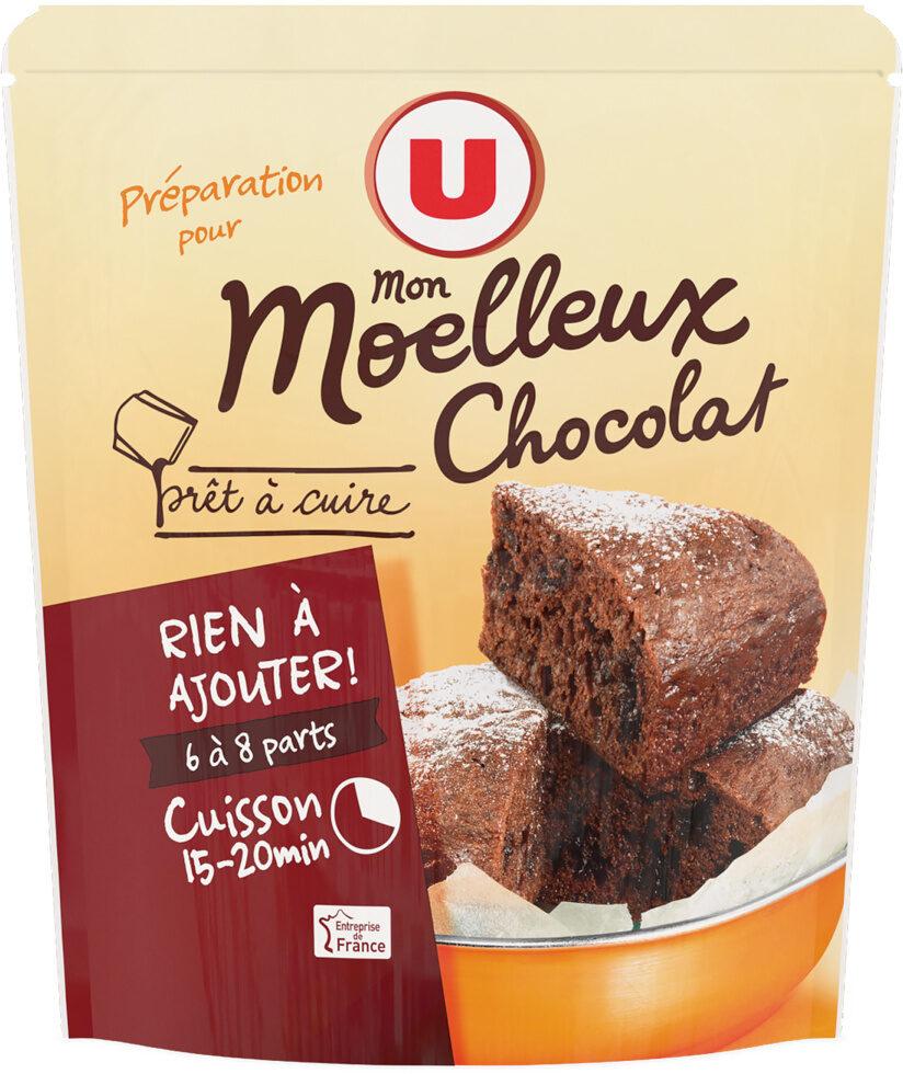 Préparation pour moelleux chocolat prêt à cuire - Product - fr