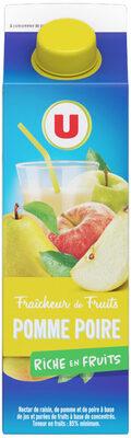 Fraîcheur de fruits pomme et poire - Produit - fr