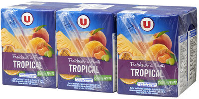 Fraîcheur de fruit tropical riche en fruits - Product