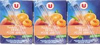 Fraîcheur fruits orange, pêche et abricot riche en fruits - Produit - fr