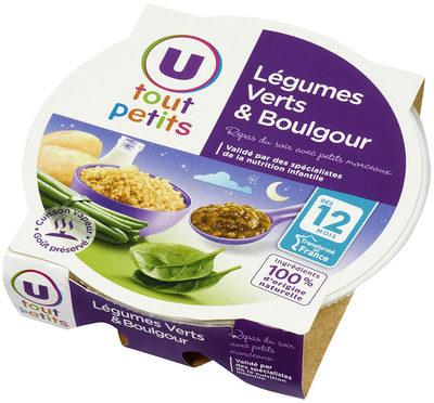 Assiette soir légumes verts et boulghour - Product - fr