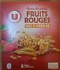 Barres de céréales Fruits Rouges aux 4 céréales - Product