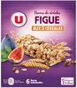 Barres de céréales figue - Produit