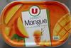 Sorbet mangue, avec morceaux - Produit