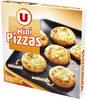 Mini pizza édam, mozzarella et emmental - Product
