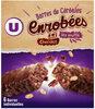 Barres de céréales enrobées de chocolat au riz souflé - Produto