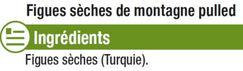 Figue sèche de montagne, calibre n°3 - Ingrédients - fr