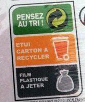 Figues de montagne - Instruction de recyclage et/ou informations d'emballage - fr