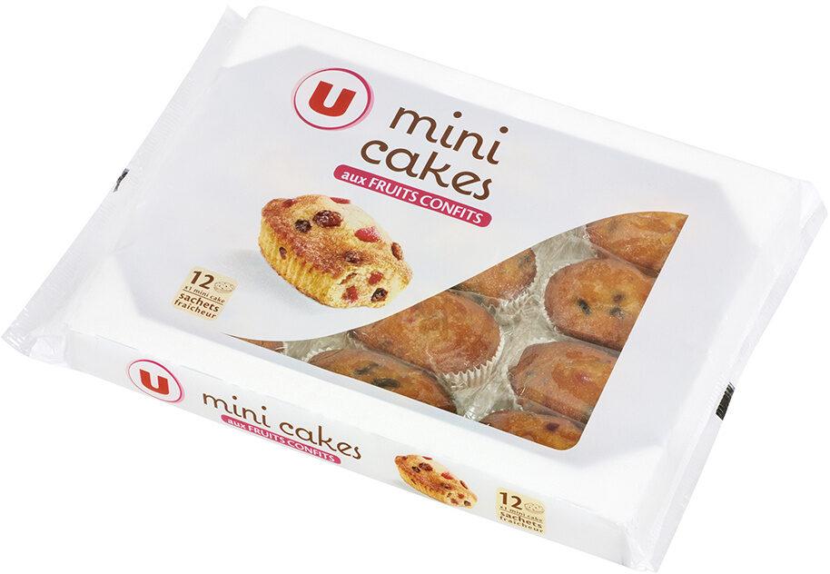 Mini cakes aux Fruits Confits - Product