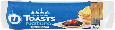 Toasts ronds au froment - Product - fr
