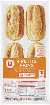 Mini pains précuits - Produit - fr