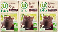 Boisson bio au soja saveur chocolat - Produit - fr