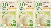 Boisson bio au soja saveur vanille - Prodotto - fr