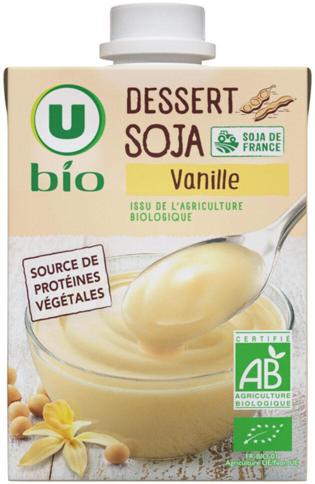 Dessert soja à la vanille - Produit - fr
