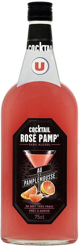 Cocktail sans alcool rose pamplemousse - Produit