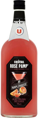 Cocktail sans alcool rose pamplemousse - Product - fr