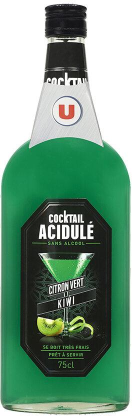Cocktail sans alcool citron vert kiwi - Product