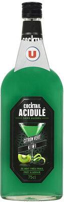 Cocktail sans alcool citron vert kiwi - Product - fr