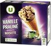 Cônes vanille praliné - Produit
