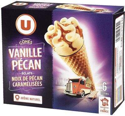 Cônes vanille pécan - Product