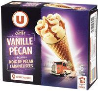 Cônes vanille pécan - Produit - fr