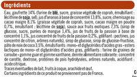 Cônes de sorbet noix de coco et ananas - Ingrédients - fr