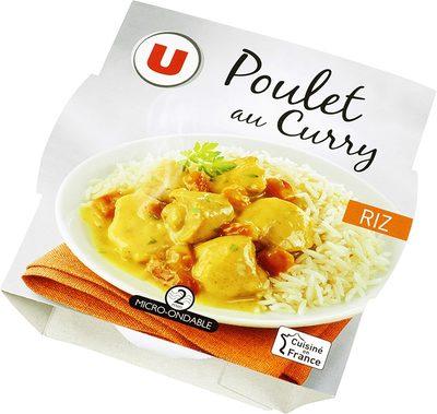 Emincé poulet au curry+riz basmati - 7