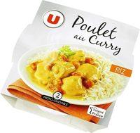 Emincé poulet au curry+riz basmati - Produkt - fr