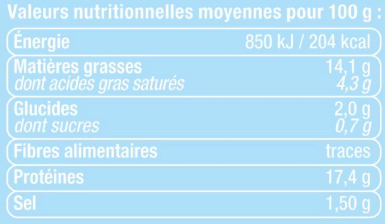 Plateau de poulet colombo - Informations nutritionnelles - fr