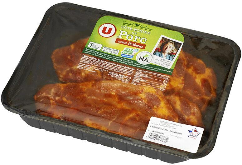 Côte de porc échine barbecue, - Product