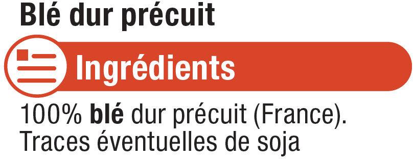 Blé précuit cuisson rapide - Ingrédients - fr