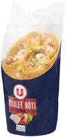 Wrap poulet rôti caesar - Produit