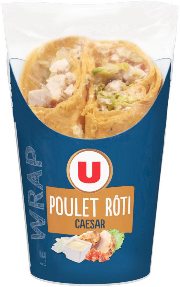 Wrap poulet rôti caesar - Produit - fr